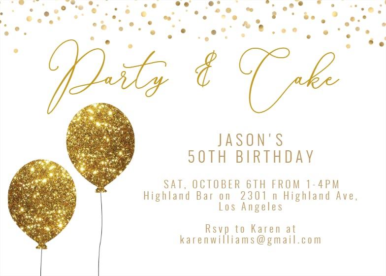 Invitations THE NEXT Supper Birthday Invitation Cards