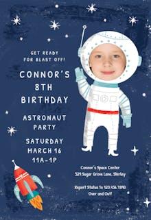 Launched - Birthday Invitation