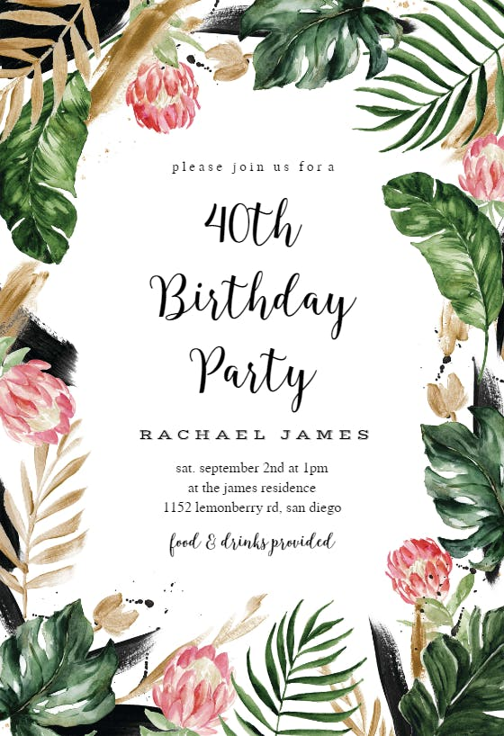 invitaciones de fiesta gratis