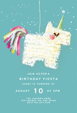 Pinata - Birthday Invitation