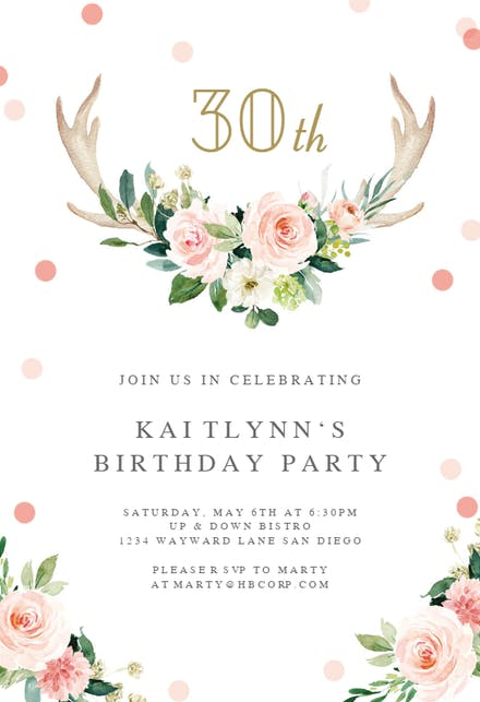 Invitation Templates (Free) | Greetings Island