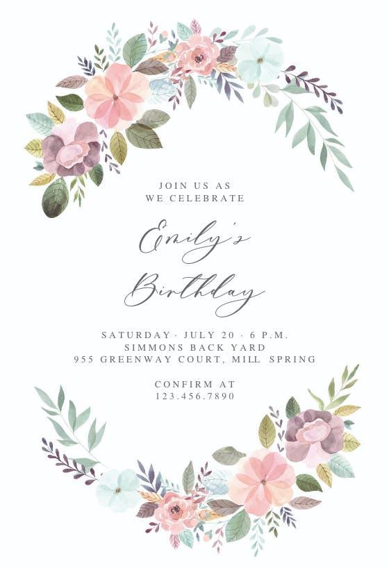 invitation templates  free
