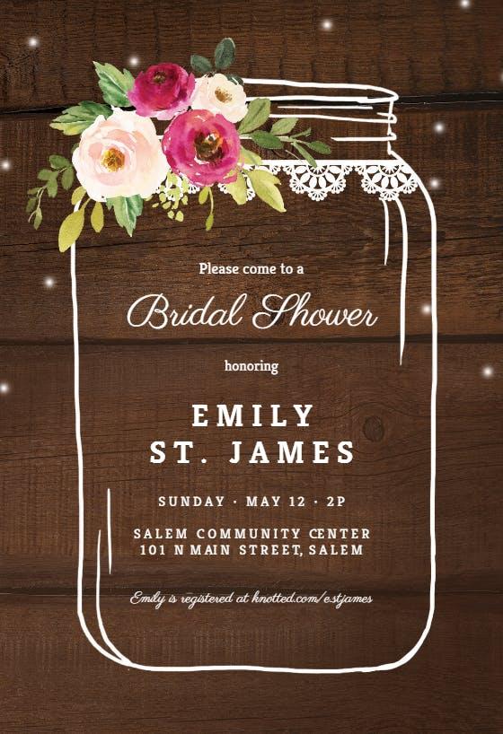 Bridal Shower Invitation Templates (Free) Greetings Island