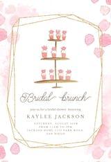 Ladies brunch - Invitación Para Despedida De Soltera