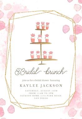 Ladies brunch - Bridal Shower Invitation