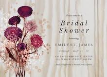 Light wood - Bridal Shower Invitation