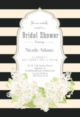 Romantic Frame - Bridal Shower Invitation
