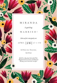 Spring Hug - Bridal Shower Invitation Template