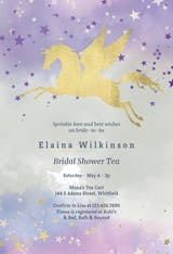Unicorn Love - Bridal Shower Invitation
