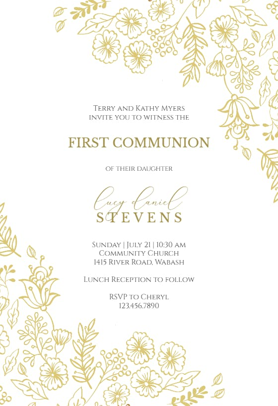 Invitation Template Light Blue Communion Invitation DTS Instant Download Communion Party Invitation EDITABLE Blue Communion INVITATION