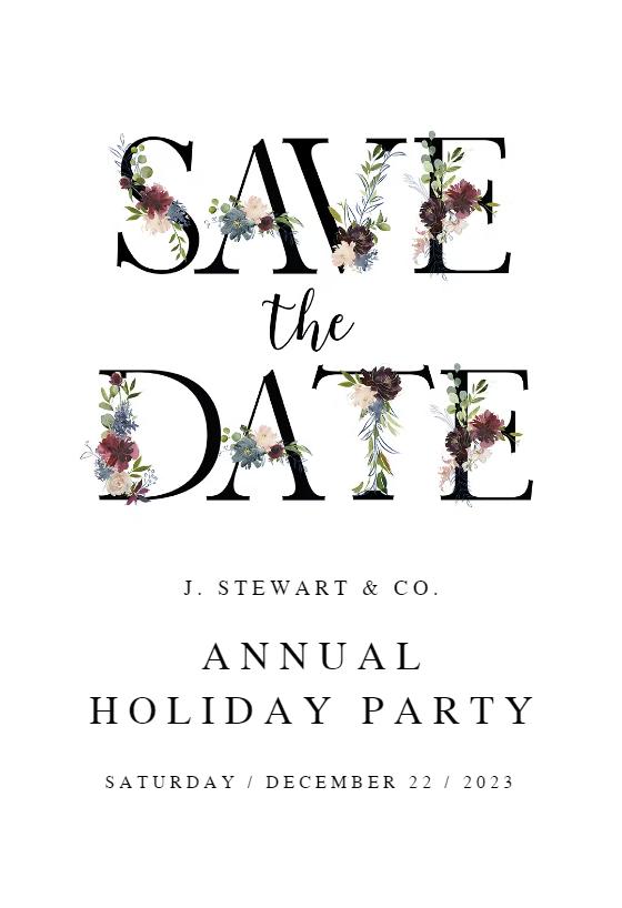 design christmas invitation online free