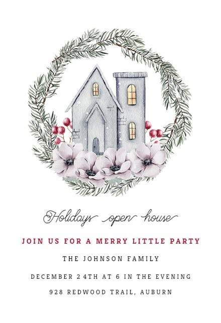 Christmas Party Invitation Templates (Free) | Greetings Island