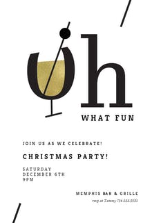 Oh Cocktail - Cocktail Party Invitation