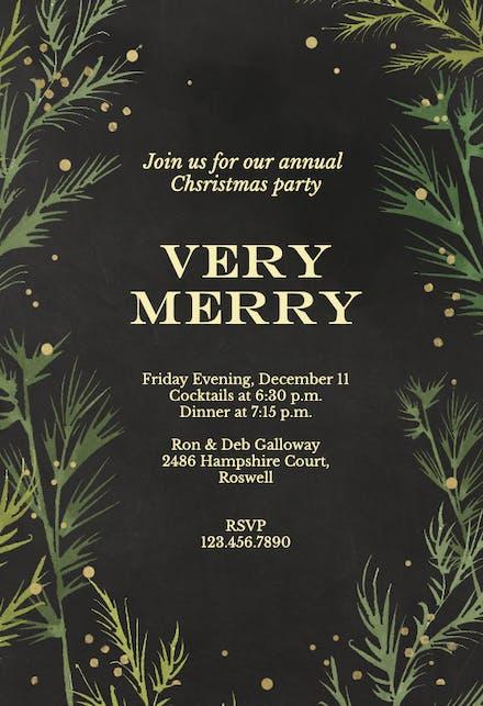 Christmas Party Invitation.Christmas Party Invitation Templates Free Greetings Island
