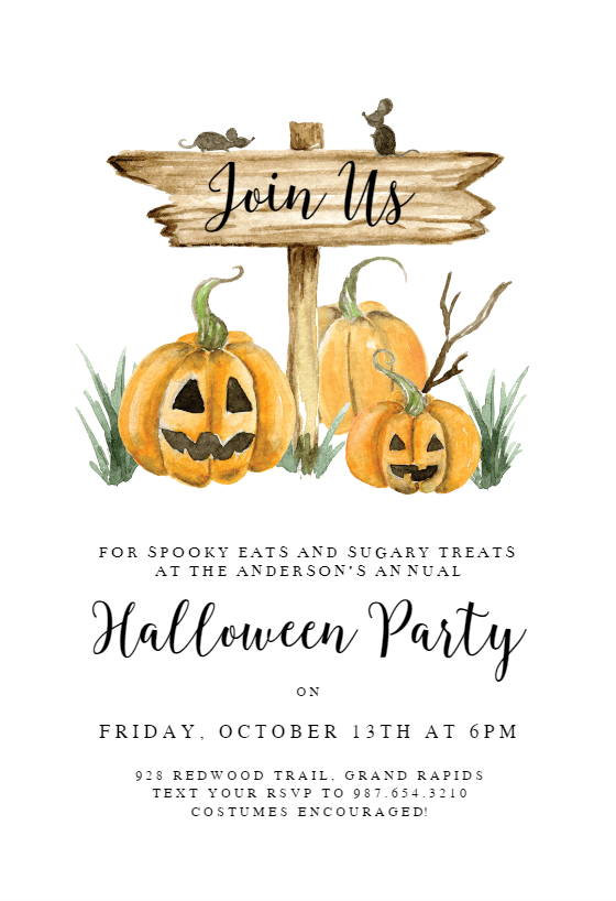 image relating to Halloween Invites Printable identify Halloween Get together Invitation Templates (No cost) Greetings Island