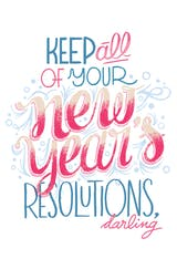 Be Your Best Self This Year - New Year Card