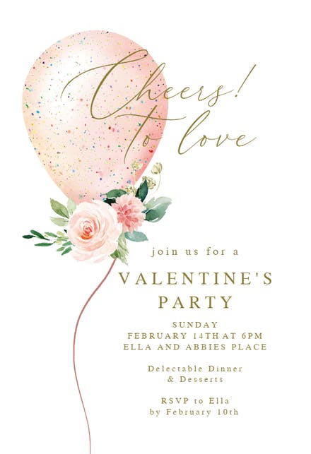 Valentine S Day Invitation Templates Free Greetings Island