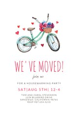 Bicycle - Housewarming Invitation