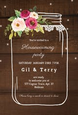 Jar of love - Housewarming Invitation