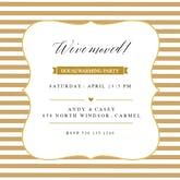 Party Lines - Housewarming Invitation Template