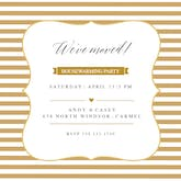 Party Lines - Housewarming Invitation