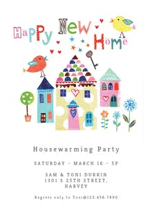 Re Housed - Housewarming Invitation