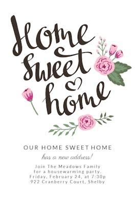 Still Home - Housewarming Invitation
