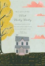 Cozy house - Housewarming Invitation