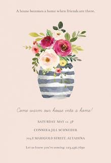 Invitation Template - Whimsical vase