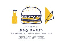 Burgers for all - Party Invitation