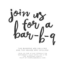Tasty Party - BBQ Party Invitation Template