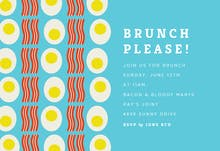 Brunch Please! - Party Invitation