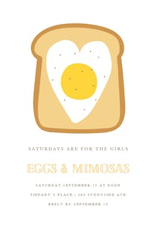 Feelin Toasty - Brunch & Lunch Invitation