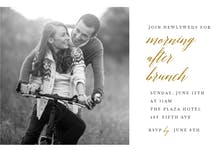 Morning After Brunch - Brunch & Lunch Invitation