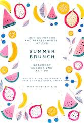 Summer Brunch - Brunch & Lunch Invitation