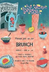 Sweet Spread - Brunch & Lunch Invitation