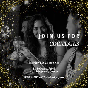 Highlight reel - Cocktail Party Invitation