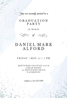 graduation party invitation templates free greetings island