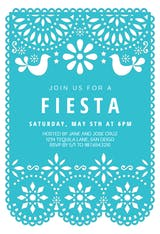 Fiesta Party - Party Invitation