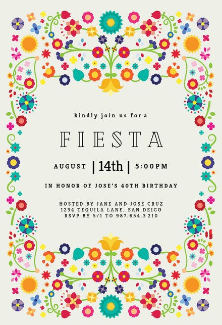 Invitaciones De Fiesta Gratis Greetings Island