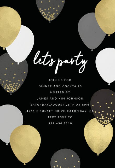 Party Invitation Templates (Free) | Greetings Island