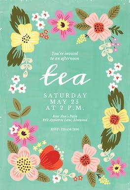 Tea Cozy - Party Invitation
