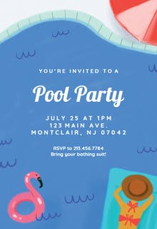 Invitation Template - Summer Mood