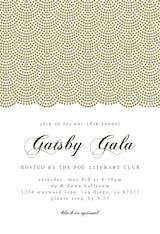 Gatsby Gala - Business Event Invitation
