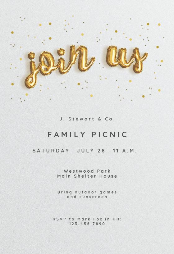 Event Invitation Kalde Bwong Co