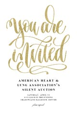 You Are Invited - Business Event Invitation