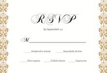 Dappled Distinction - Tarjeta De Confirmación De Asistencia A Eventos