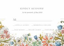 Floral Edge - RSVP card