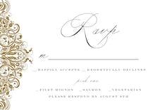 Formal Ornate - RSVP card