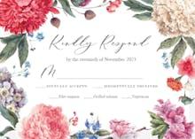Garden Glory - RSVP card